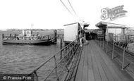 Hythe, the Ferry c1960