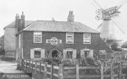Hythe, The Hope Inn And Windmill c.1910