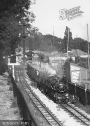 Hythe, The Miniature Railway c.1945