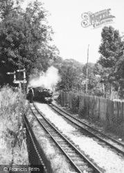 Hythe, The Miniature Railway c.1955