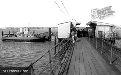 The Pier And Ferry c.1960, Hythe