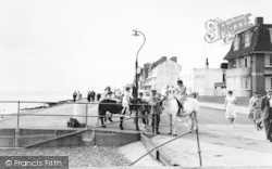 Hythe, The Promenade And Ponies c.1960