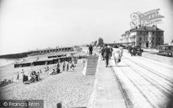 Hythe, The Promenade c.1955