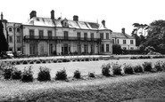 Hythe, West Cliff Hall Hotel c1955