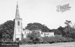 Ibstock, The Church Of St Denys c.1965
