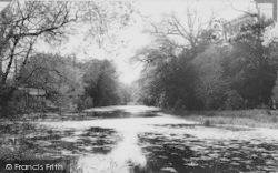 Ickenham, The Lake c.1965