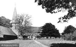 Ickham, Church Of St John The Evangelist c.1955