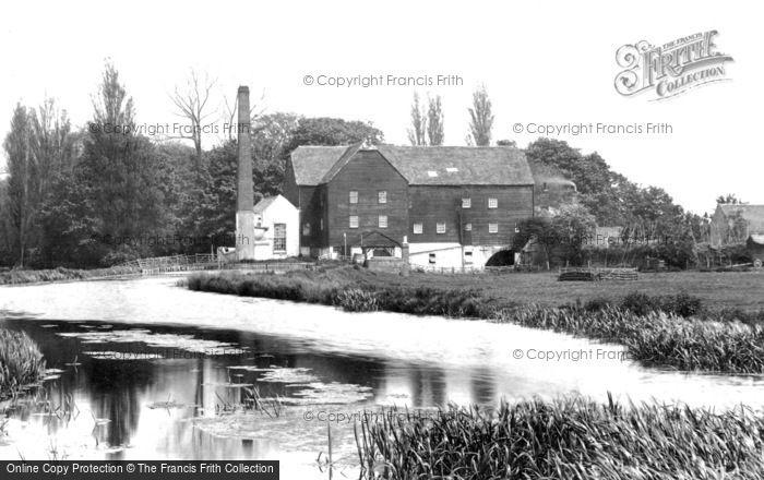 Ickham,Seaton Mill 1903,Kent