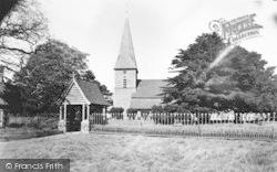 Ickham, St John's Church c.1955