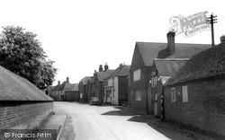 Ickham, The Forge And Street c.1960