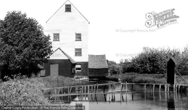 Ickham,the Mill c1955,Kent
