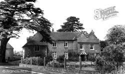 Ickham, The Old Rectory c.1960