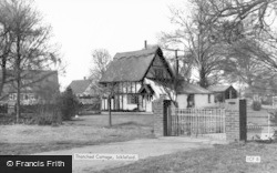 A Thatched Cottage c.1960, Ickleford