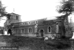 St Katherine's Church 1901, Ickleford