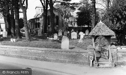 St Katherine's Church And Lychgate c.1960, Ickleford