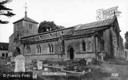 St Katherine's Church c.1955, Ickleford