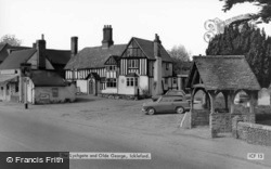 The Lychgate And Old George c.1965, Ickleford
