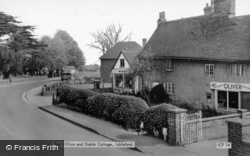 The Post Office And Gable Cottage c.1960, Ickleford