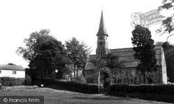 Ide Hill, The Church c.1960