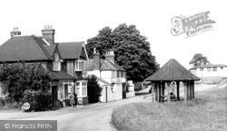 Ide Hill, The Village c.1960