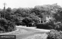 Ide Hill, The Wheatsheaf c.1960