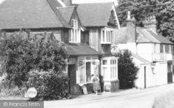 Ide Hill, Village Shop c.1960