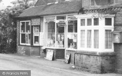 Ide Hill, Village Shop c.1965