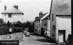 Ide, The High Street c.1960