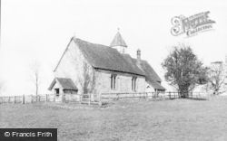St Hubert's Chapel c.1955, Idsworth