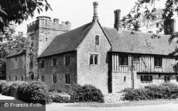 Ightham, Ightham Mote House c.1960