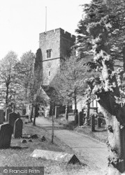 Ightham, St Peter's Church c.1950
