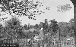Ightham, The Church And Oast House c.1955
