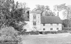Ightham, The Mote House c.1955