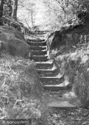 Ightham, The Roman Steps c.1955