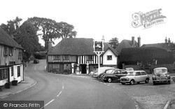 Ightham, The Square And George & Dragon c.1960