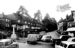 Ightham, The Village And Memorial Cross c.1960