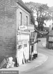 Ightham, The Village Shop c.1960
