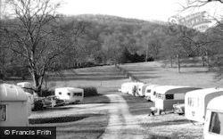 Ilam, Ilam Hall Caravan Site c.1965