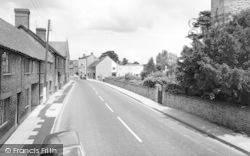 Ilchester, Church Street c.1965