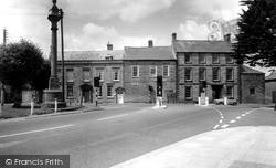 Ilchester, Cross Roads c.1965