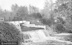 Ilchester, Hainbury Weir c.1955