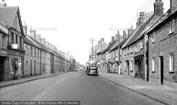 Photo of Ilchester, High Street c1955