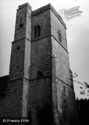 Ilchester, St Andrew's Church, Northover c.1955