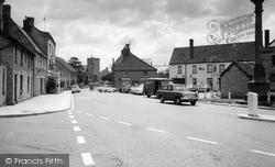Ilchester, The Cross Roads c.1965