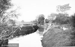 Ilchester, The River c.1955