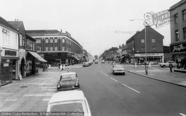 Photo of Ilford, Barkingside High Street c.1965