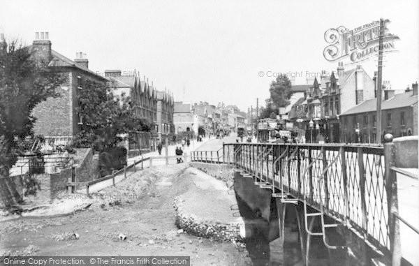 Photo of Ilford, Bridge And Hill 1900