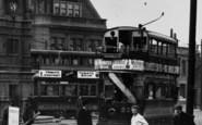 Ilford, Broadway, Trams c.1907