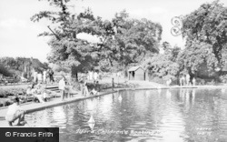 Ilford, Children's Boating Pool c.1950