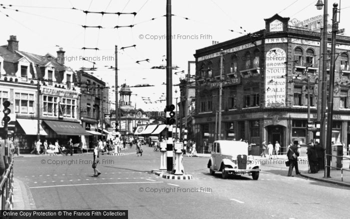 Photo of Ilford, Cranbrook Road And High Street 1948